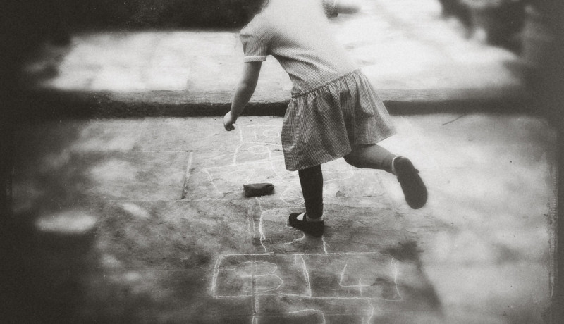 iphoneography - hopscotch