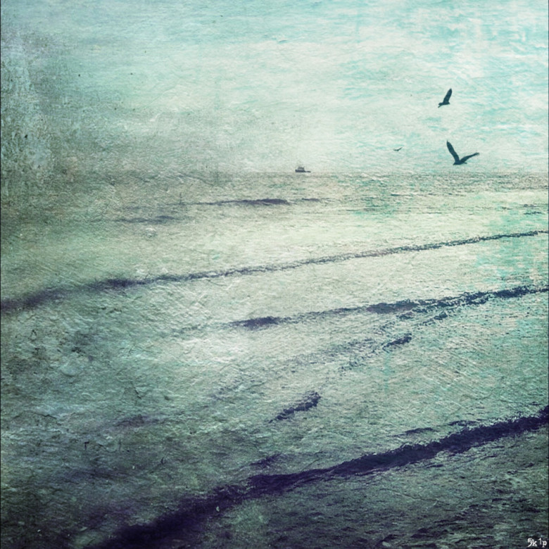seascape iPhoneography - horizon