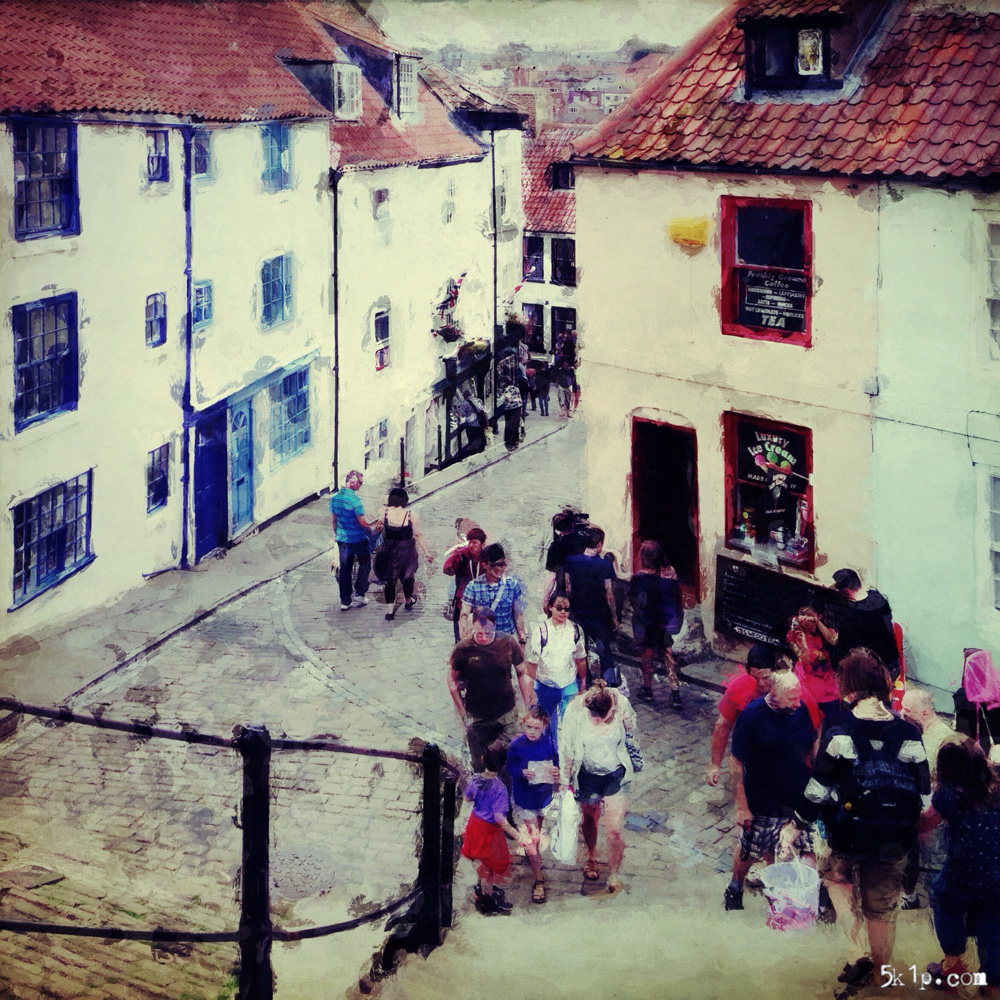 iphoneography - 199 steps (Whitby)
